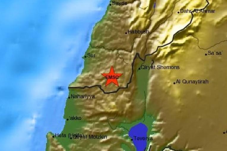 רעידת אדמה בעוצמה של 2.7 בסולם ריכטר הורגשה בגליל העליון