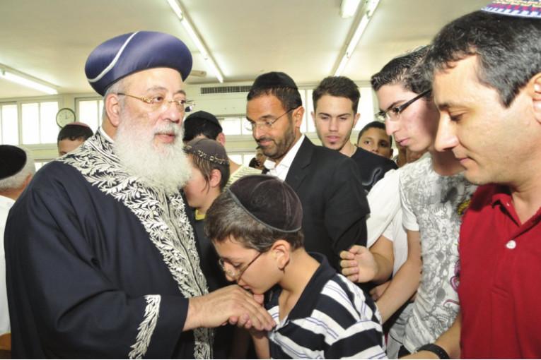 סיכום ביקורו של הרב הראשי לישראל הרב שלמה-משה עמאר בקריית שמונה
