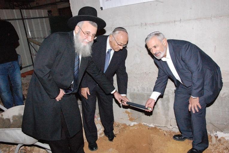 הונחה אבן פינה לבית משפט השלום בעיר