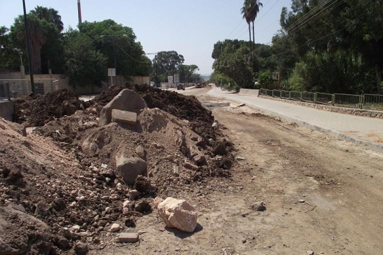 רחוב הירדן – חרשו את הכביש