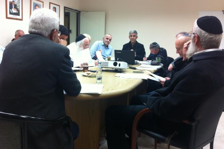 מליאת המועצה בחצור אישרה את תקציב 2015