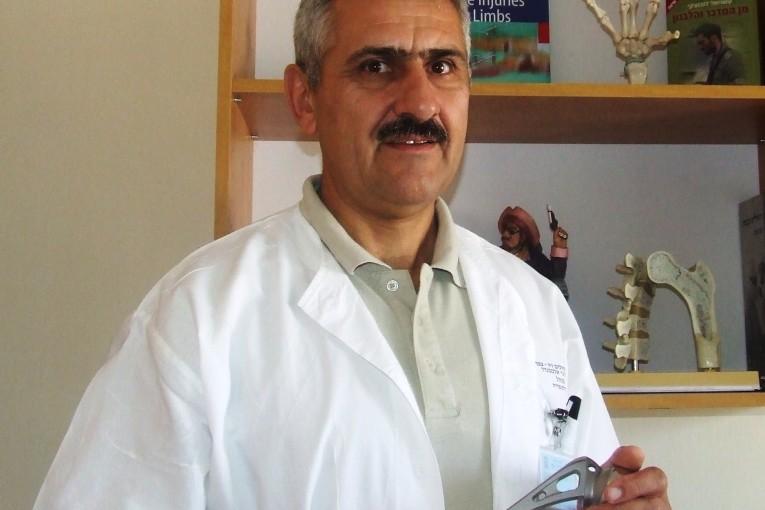 מרכז רפואי רבקה זיו הטיפול האורתופדי ב-320 פצועי גפיים סוריים