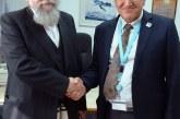 הרב פירר ביקר במרכז הרפואי זיו