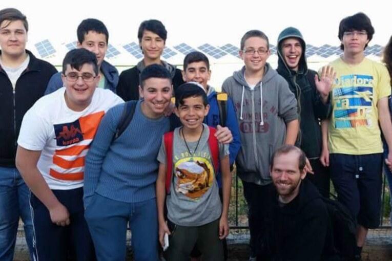 משלחת של יחידת הנוער בקריית שמונה בתחרות הסייבר הארצית קודגורו 17