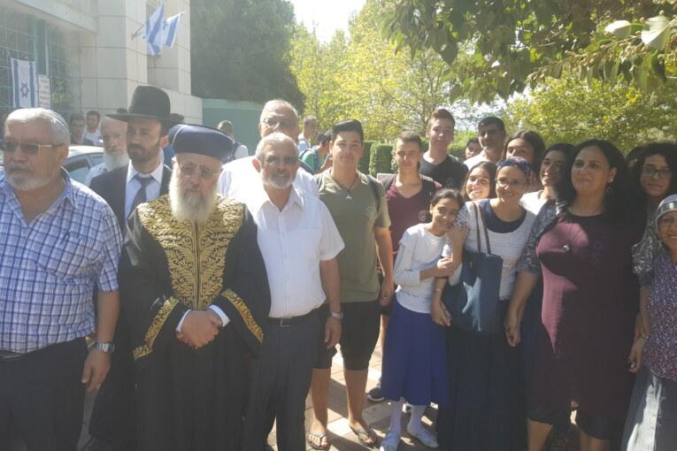 """"""" העם היהודי מתקיים אלפי שנים בזכות התורה שלכם ,לעומת אומות ומעצמות אחרות שהיו ועברו מהעולם """"."""