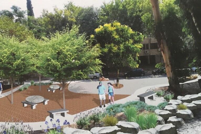 פארק בלב שכונת מגורים