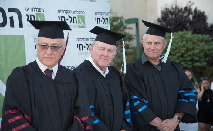 1094 תארים הוענקו במכללה האקדמית תל חי