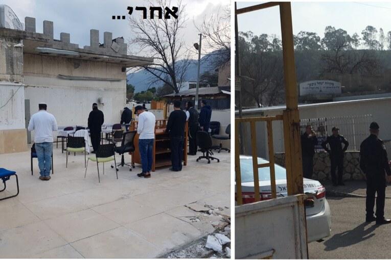 שוב בנו, שוב הרסו את בית הכנסת ברסלב