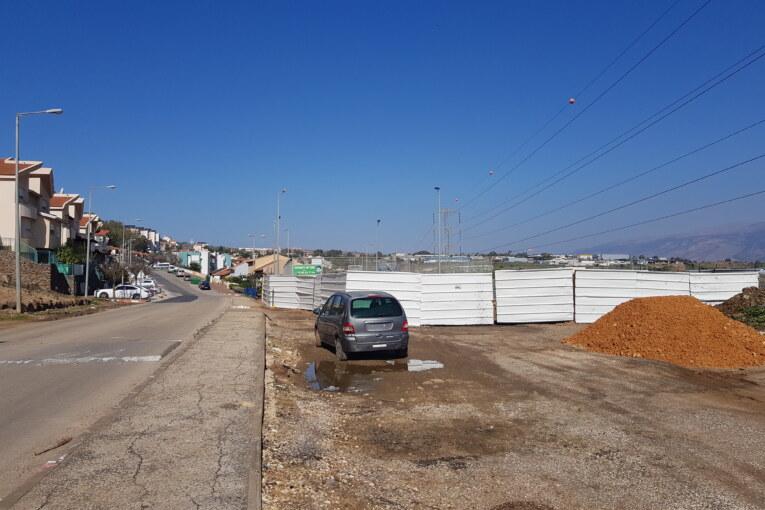 פרויקט כביש הכניסה הדרומי לשכונת הוורדים יוצא לדרך
