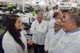 השר ליברמן במסע לחיזוק מפעלים בעיר המייצרים לתעשיית הביטחון