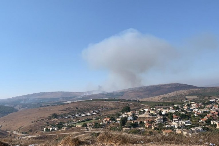 """אירוע בטחוני בגבול הצפון באזור אביבים. צה""""ל בוצע ירי נ""""ט מלבנון"""