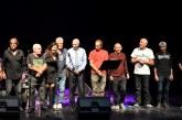 להקת 'הרוזנים' בהופעה לציון 55 שנים להקמתה