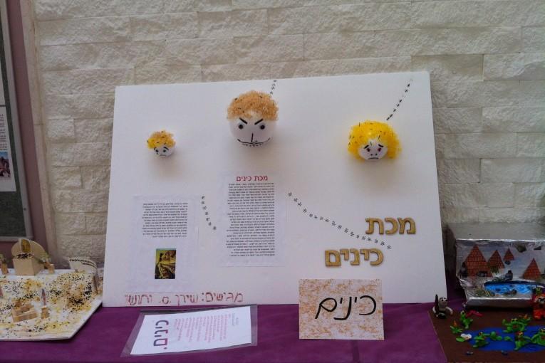 תערוכה בנושא עשר המכות אורט חצור