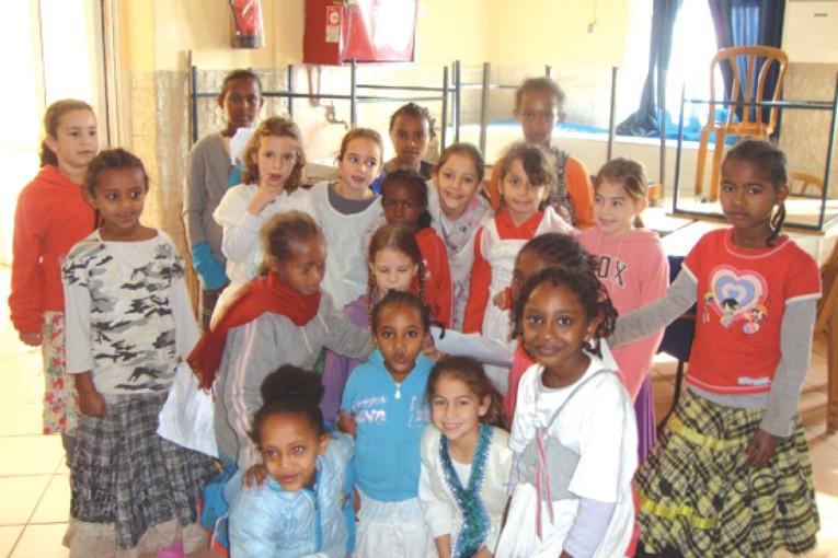 """שבת אחים: חג הסיגד- בבית ספר רמב""""ם"""