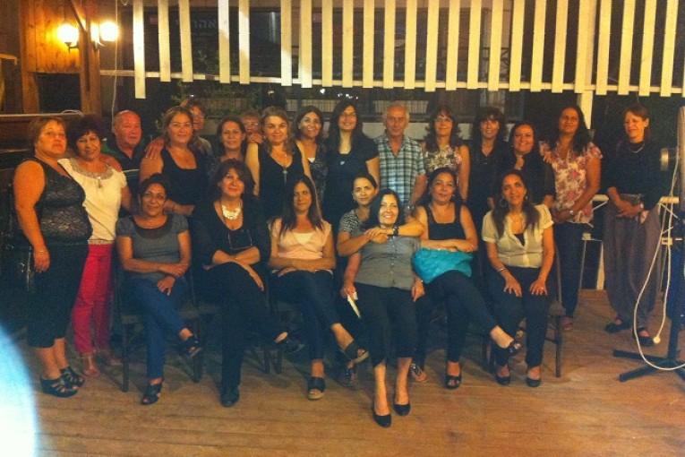 מסיבת פרידה ממנהל מגינים – יוסי מלול