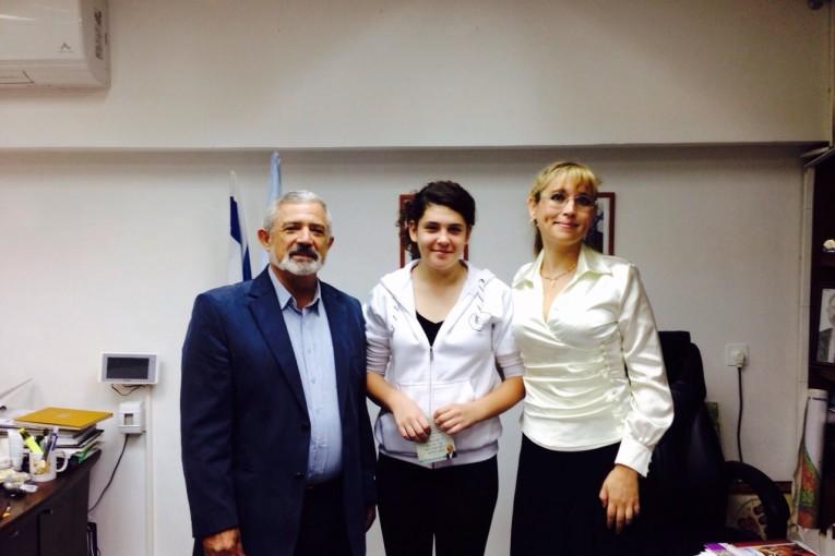 שלי מוגילבסקי מדנציגר זכתה במקום הראשון בתחרות בינלאומית במוסקבה
