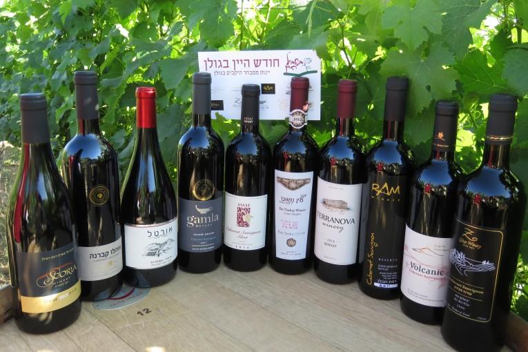 לראשונה בשביל היין : מארז יינות מהגולן