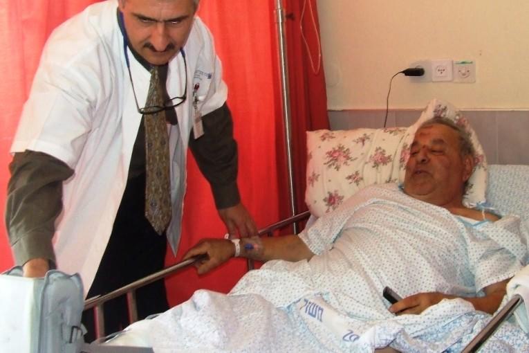 רגלו של הפצוע מהתפוצצות בלון הגז ניצלה הודות לניתוח הדחוף במרכז הרפואי זיו
