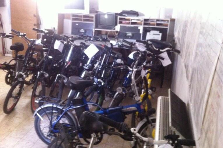 הוחרמו עשרה זוגות  אופניים חשמליים