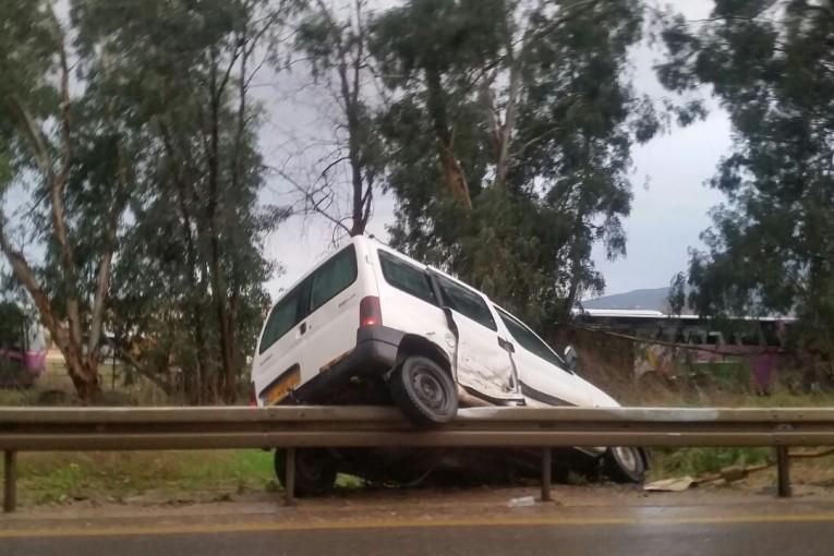 תאונת דרכים בכניסה לאזור תעשייה דרומי קרית שמונה