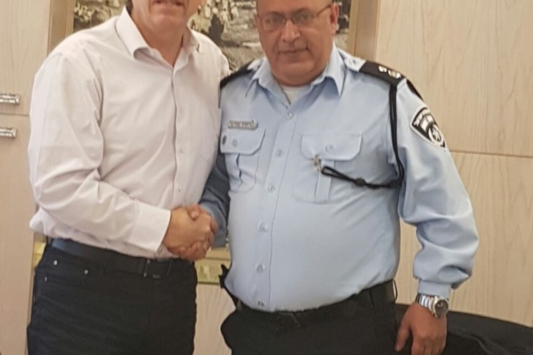 השיטור הקהילתי ביישובים תחת פיקוד משטרת קריית שמונה וראש פינה