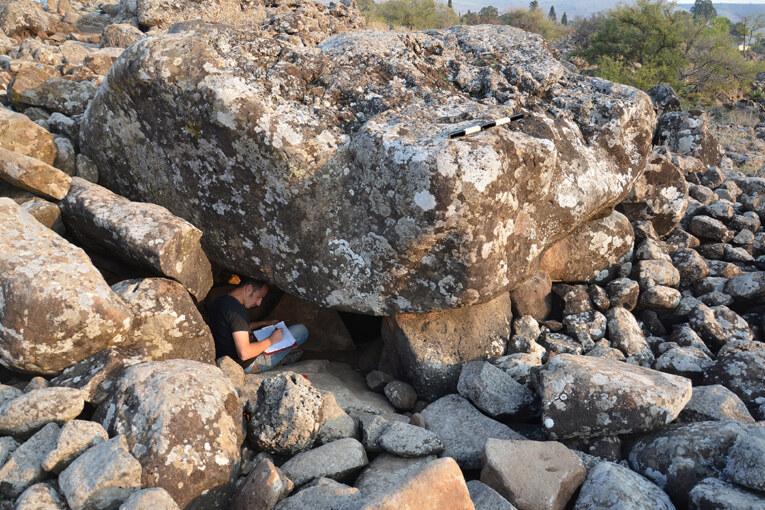 תגלית ארכיאולוגית מרעישה : דולמן נדיר בן למעלה מ-4,000 שנה בשמיר