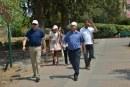 ביקור פורה לסגן שר השיכון והבינוי היום בקצרין בירת הגולן