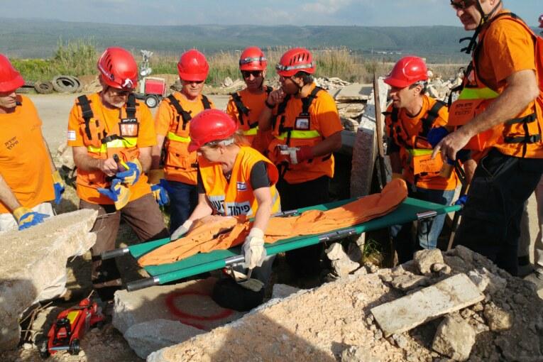 """מוא""""ז הגליל העליון תרגלה את יחידת החילוץ: """"החוסן האזרחי יסייע לצה""""ל לנצח"""""""