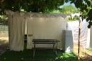 חדש בקייקי כפר בלום – מתחם אוהלים ממוזגים