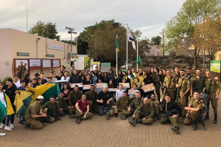 """קריית שמונה במקום ה-17 בישראל בגיוס לצה""""ל"""