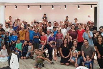 100 משפחות חדשות בקצרין