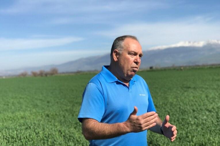 """יו""""ר התאחדות האיכרים בישראל:  """"אל תקנו עגבניות ללא עוקץ מארדואן"""""""