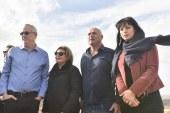 בני גנץ בסיור בגבול הצפון מציע לחיזבאללה לא לנסות את ישראל