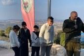 קצין ההגנה המרחבית של עוצבת הגליל, סגן אלוף יניב קריאף סיים את תפקידו