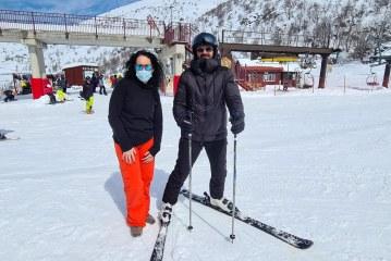 אברהם טל פתח את עונת הסקי בחרמון