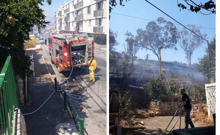 שריפה ברחוב אילת (עולי הגרדום) – 10 בניינים פונו